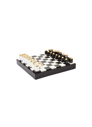 Main View - Click To Enlarge - L'OBJET - Chess set – Black/White