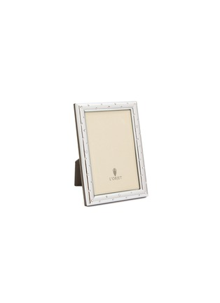 Main View - Click To Enlarge - L'OBJET - Stars 4R photo frame – Platinum