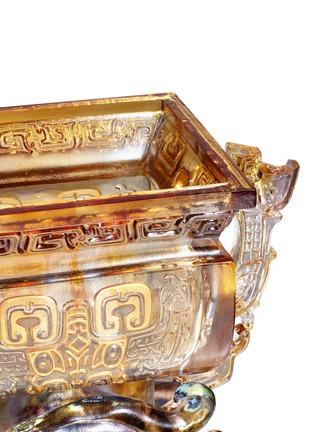 Detail View - Click To Enlarge - TITTOT - Dragon Pair Bronze Ware sculpture