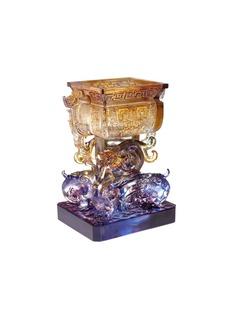 Tittot Dragon Pair Bronze Ware sculpture