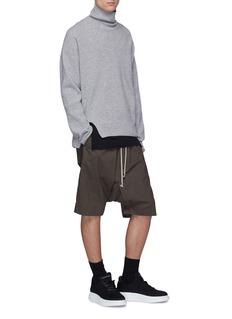 Rick Owens DRKSHDW 'Pod' drop crotch poplin shorts