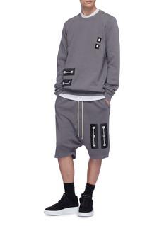 Rick Owens DRKSHDW Graphic patch sweatshirt