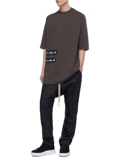Rick Owens DRKSHDW Graphic patch T-shirt