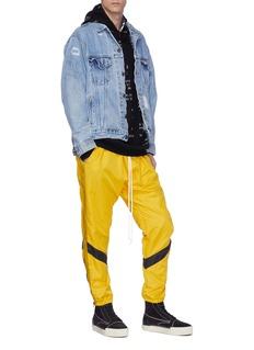 Daniel Patrick Logo print outseam stripe track pants