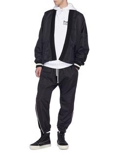 Daniel Patrick Open front kimono bomber jacket