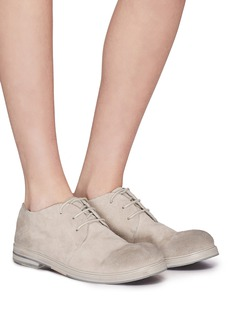 Marsèll Distressed suede lace-up Derbies