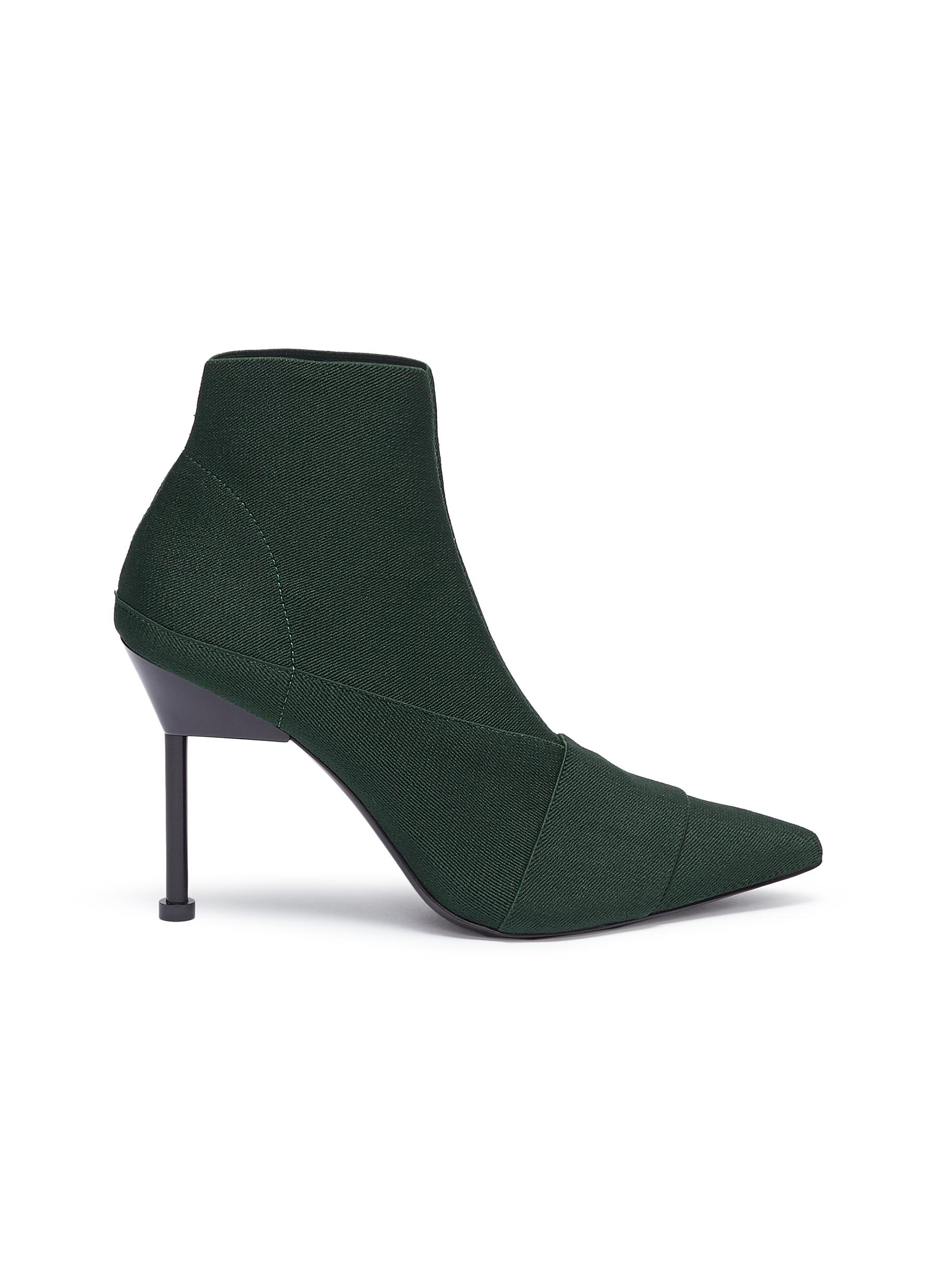 Kera High stretch ankle boots by Mercedes Castillo