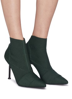Mercedes Castillo 'Kera High' stretch ankle boots