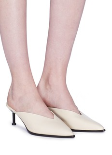 Mercedes Castillo 'Noriko' leather mules