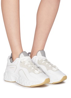 Acne Studios 'Manhattan Nappa' contrast trim panelled leather sneakers