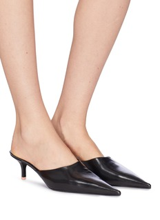 Acne Studios Patent leather mules