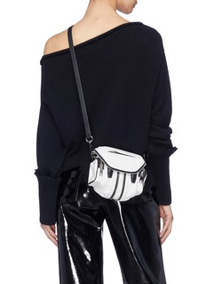 Alexander Wang  'Marti' micro leather crossbody bag