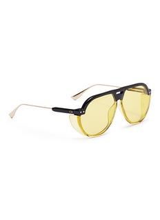 66588 'Dior Club 3' optyl brow bar spoiler aviator sunglasses