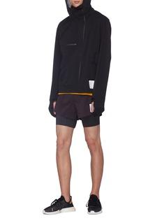Satisfy 3-layered running jacket