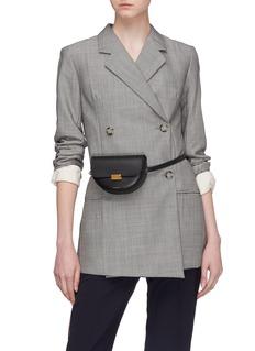 Wandler 'Anna' leather buckled belt bag