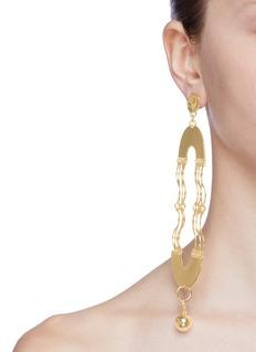 MOUNSER 'Wave' detachable sphere drop single earring