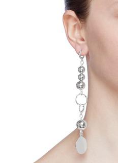 MOUNSER 'Aubade' sphere link drop earrings