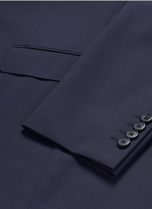 Detail View - Click To Enlarge - THEORY - 'Chambers' virgin wool soft blazer