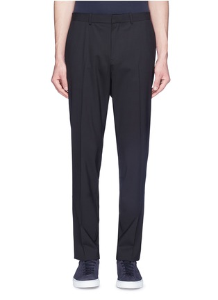 Main View - Click To Enlarge - THEORY - 'Mayer' virgin wool suiting pants