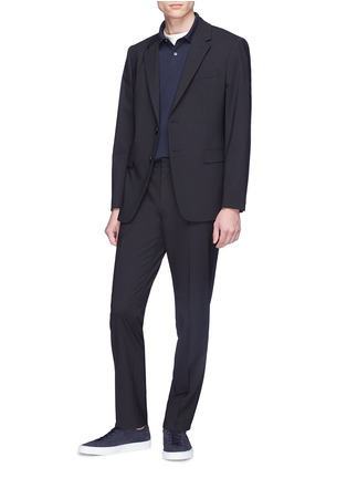Figure View - Click To Enlarge - THEORY - 'Mayer' virgin wool suiting pants