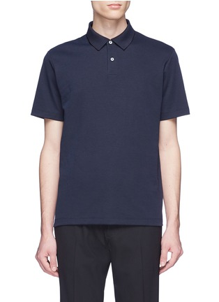 Main View - Click To Enlarge - THEORY - Pima cotton blend polo shirt