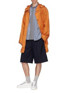 KENZO Tiger appliqué chambray shirt