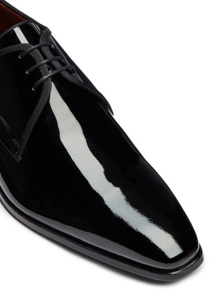 Detail View - Click To Enlarge - MAGNANNI - Patent leather Derbies