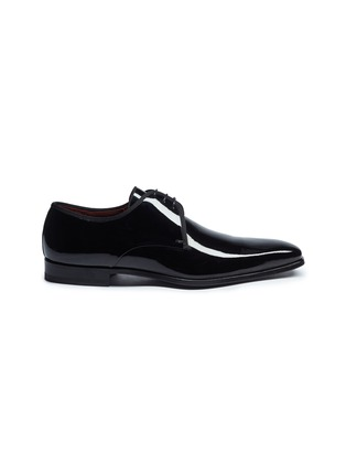 Main View - Click To Enlarge - MAGNANNI - Patent leather Derbies