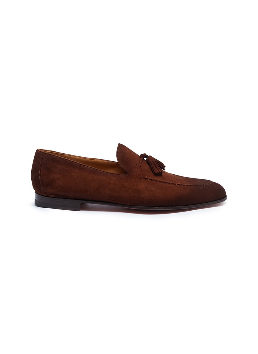 Tassel suede loafers by Magnanni