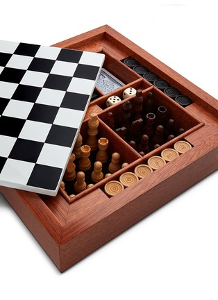 Detail View - Click To Enlarge - Fornasetti - Viso chessboard set
