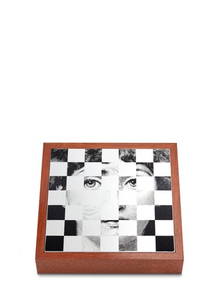 Main View - Click To Enlarge - FORNASETTI - Viso chessboard set