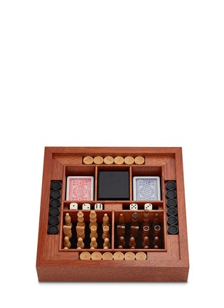 Figure View - Click To Enlarge - FORNASETTI - Viso chessboard set