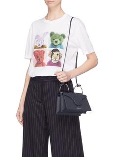 Danse Lente 'Phoebe' spiral handle leather crossbody mini bag