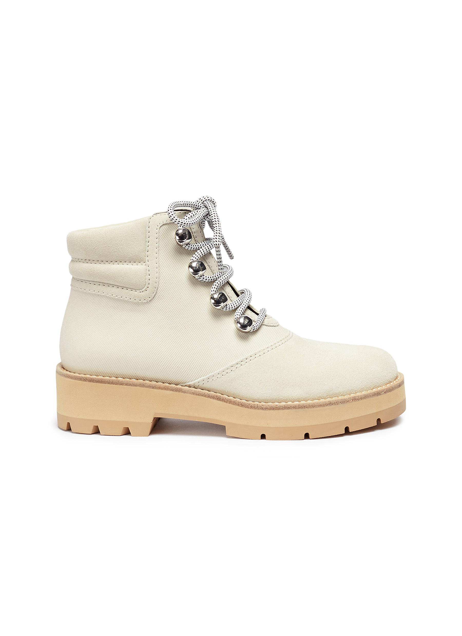 Dylan suede hiking boots by 3.1 Phillip Lim