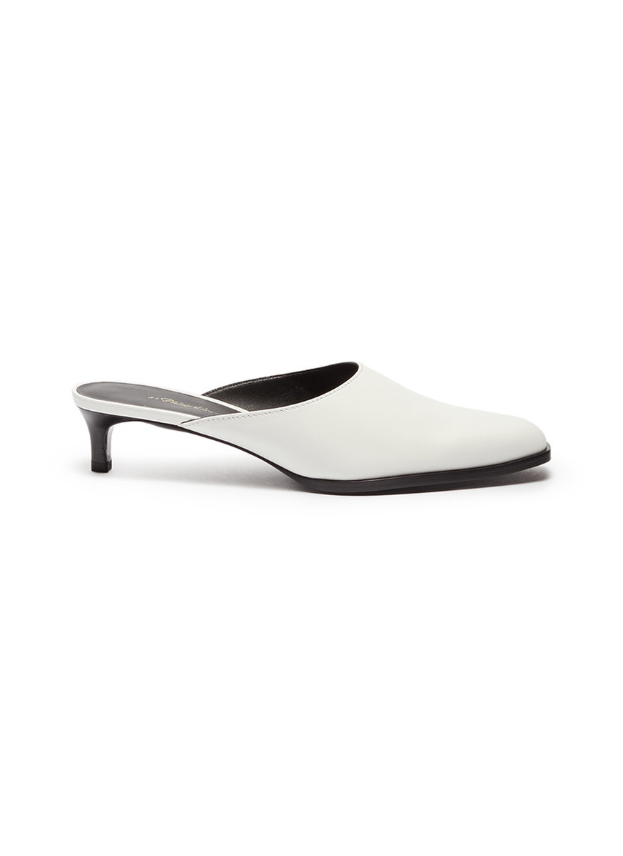 Agatha leather mules by 3.1 Phillip Lim