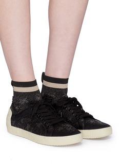 Ash 'Ninja Star' intarsia knit sock sneakers