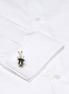 Deakin & Francis  'Rabbit in Hat' cufflinks