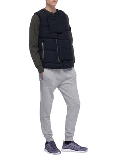 Stone Island Panelled patch pocket sweatshirt