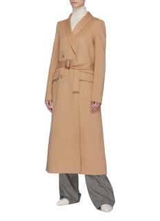 Gabriela Hearst 'Joaquin' pleated back belted cashmere melton coat