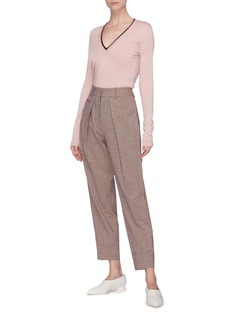 Gabriela Hearst 'Lorenco' cashmere-silk V-neck sweater