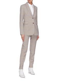 Gabriela Hearst 'Lisa' check plaid virgin wool blend suiting pants