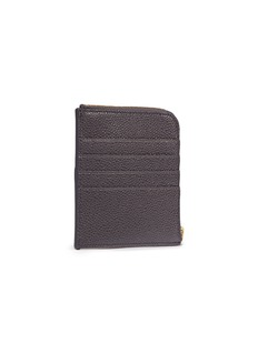 Thom Browne Pebble grain square leather zip wallet