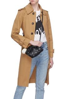 Loewe 'Bunny Stars' print mini leather bag