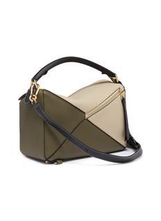 Loewe 'Puzzle' colourblocked leather bag
