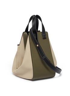 Loewe 'Hammock' medium colourblocked leather bag