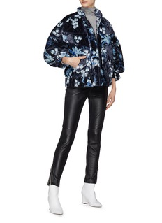 Johanna Ortiz 'Taking Back Sunday' floral print quilted jacket