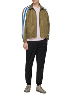 PS Paul Smith Check plaid wool jogging pants