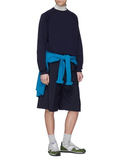 nanamica Raglan DUALWARM™ long sleeve T-shirt