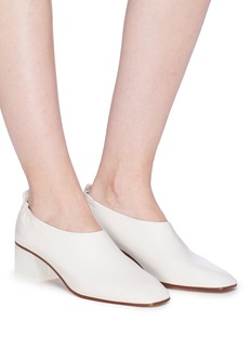 Gray Matters 'Micol Junior' choked-up leather pumps