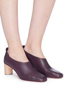 Gray Matters 'Micol' choked-up leather pumps